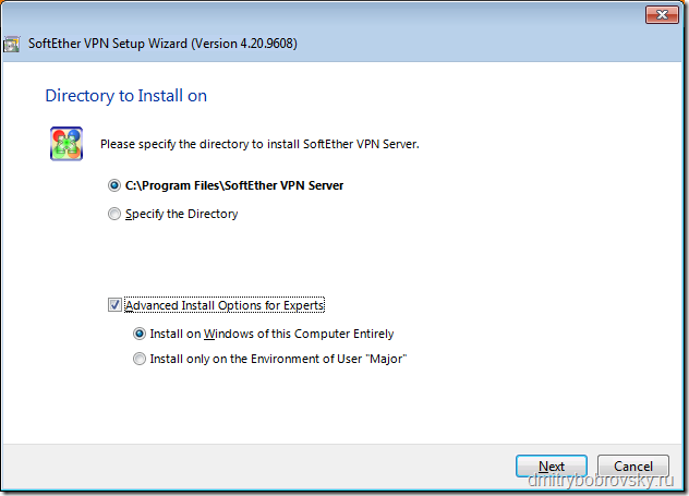 SoftEther VPN Server сервер на Windows установка и настройка
